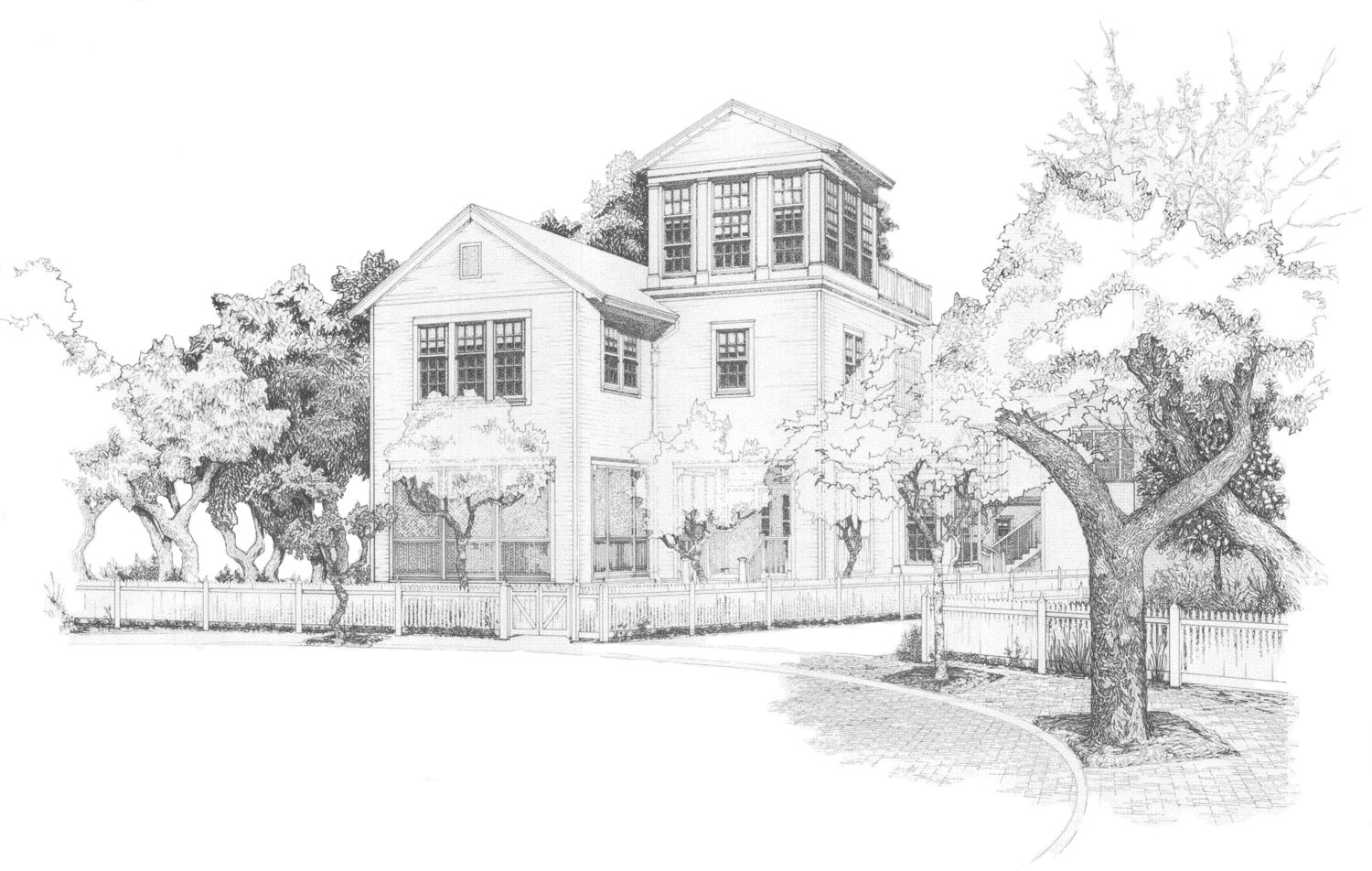 Renovations the fine art of construction houston tx for Renovation drawings